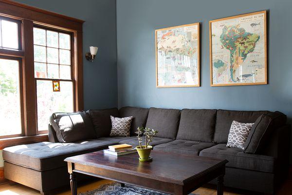 Infini Furnishings Reversible Sectional Sofa