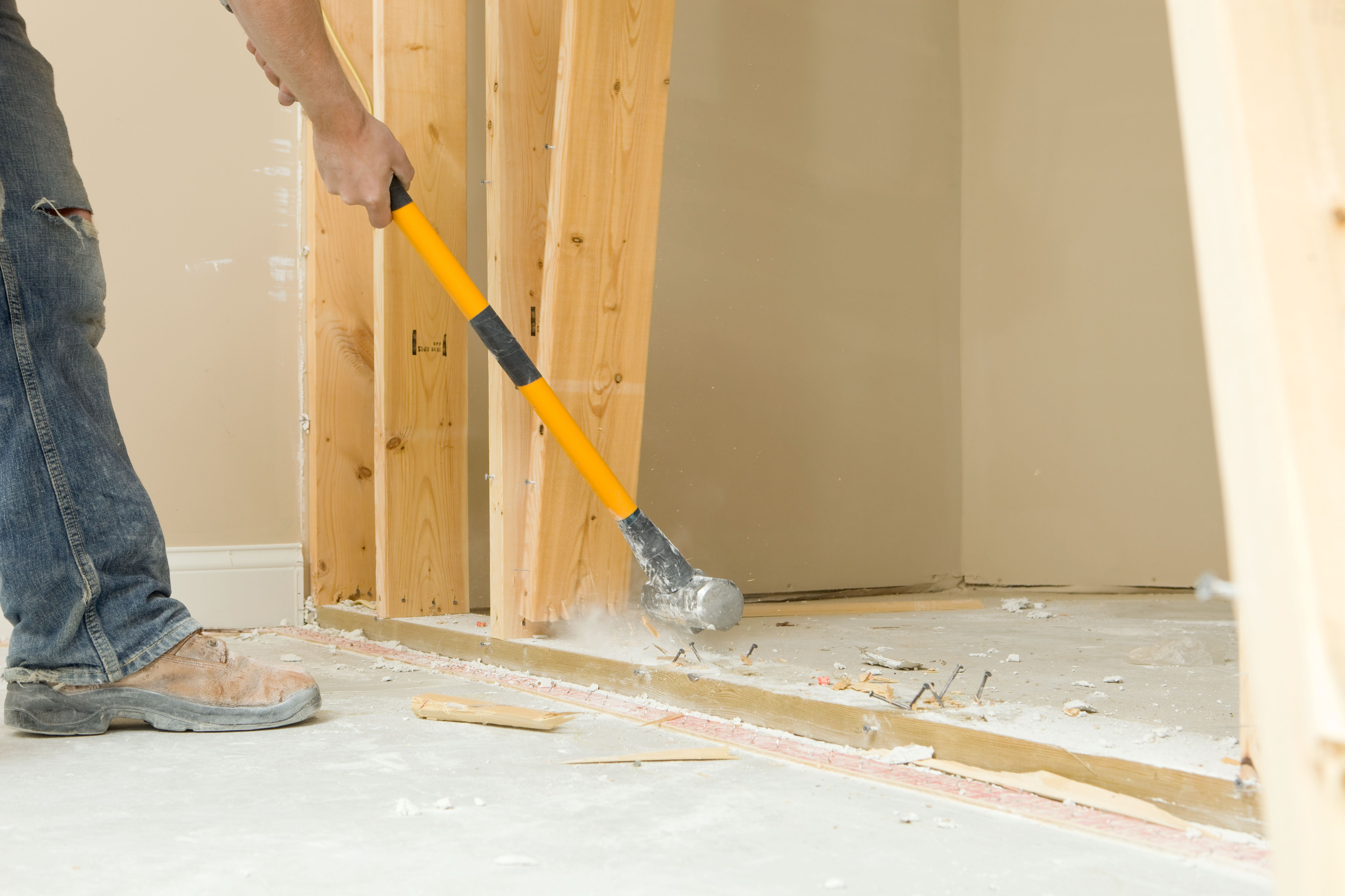 How To Remove A Full Interior Wall Non Load Bearing