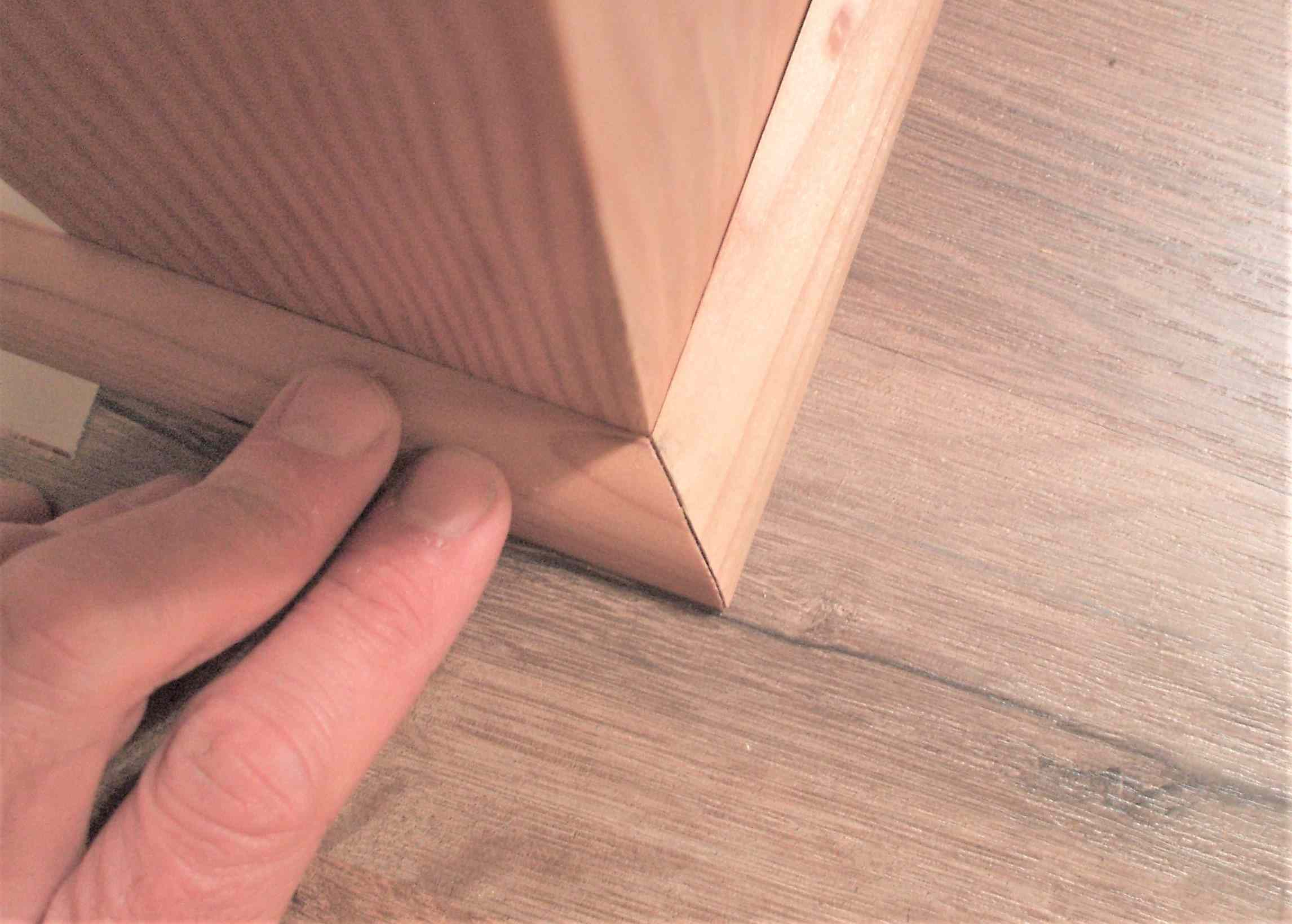 How To Install Shoe Molding Or Quarter Round