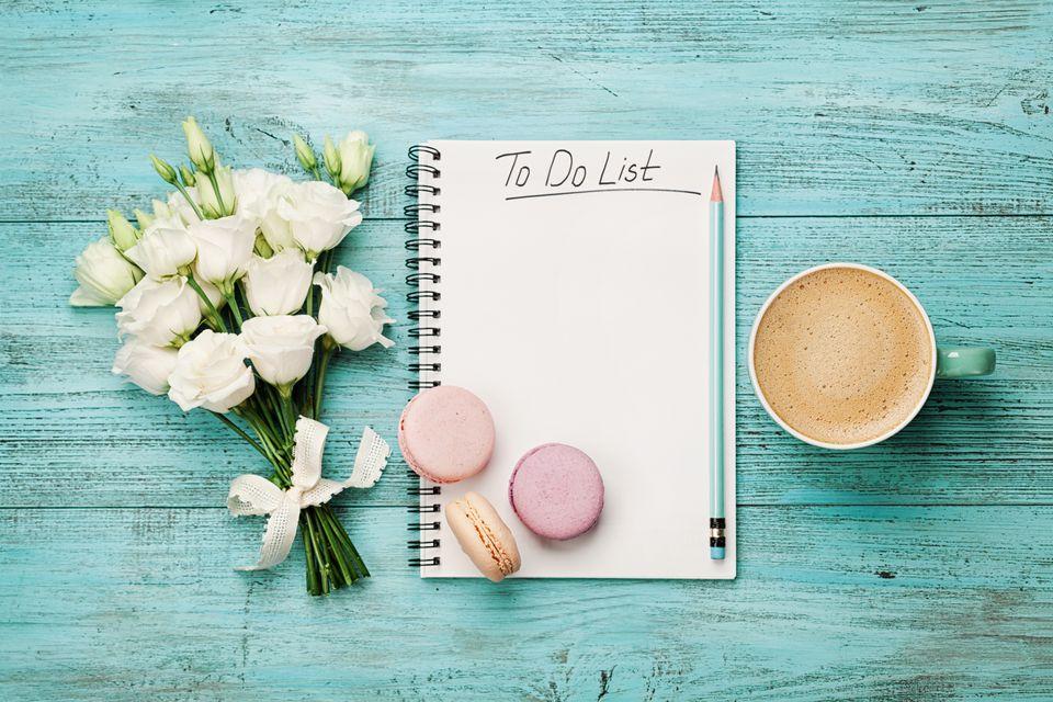 Lista de tareas de primavera