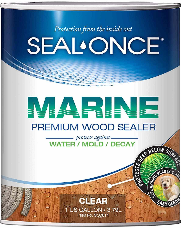 Seal Once Marine Premium Wood Sealer