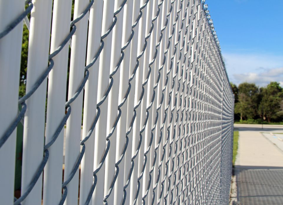 Chain-Link Fence Slats