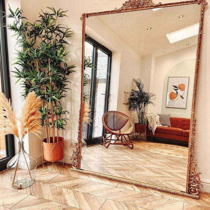 20 Diy Mirror Frame Ideas To Inspire, Do It Yourself Mirror Framing