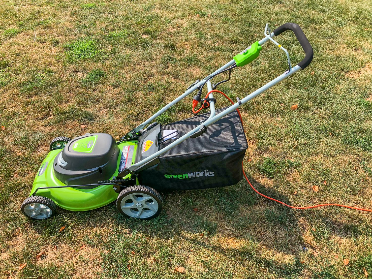 Greenworks 12 Amp Corded 20 Inch Lawn Mower