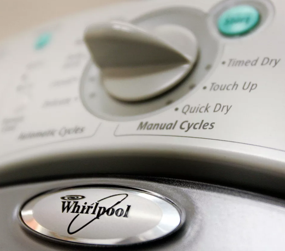 Whirlpool Dryer Dials