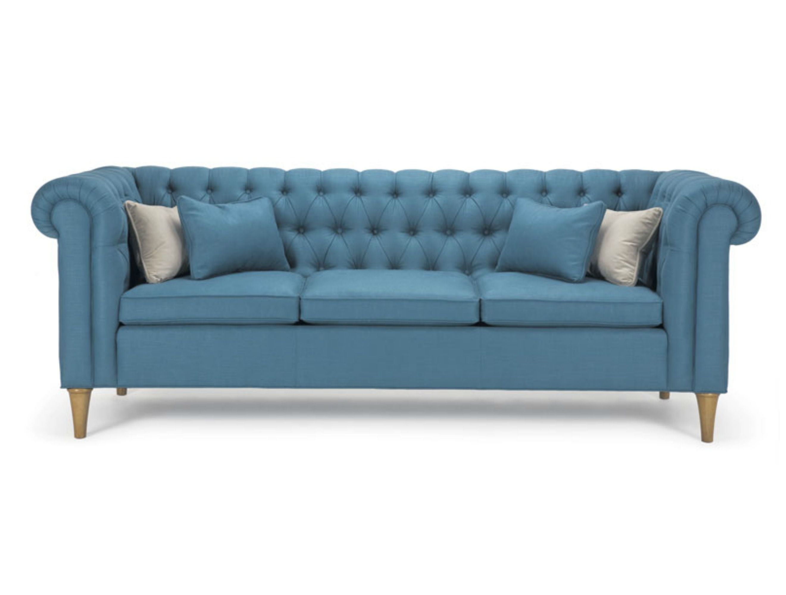 Blue Chesterfield form Barrymore furniture