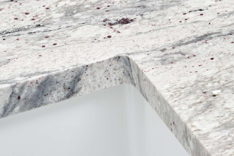 Granite countertop detail