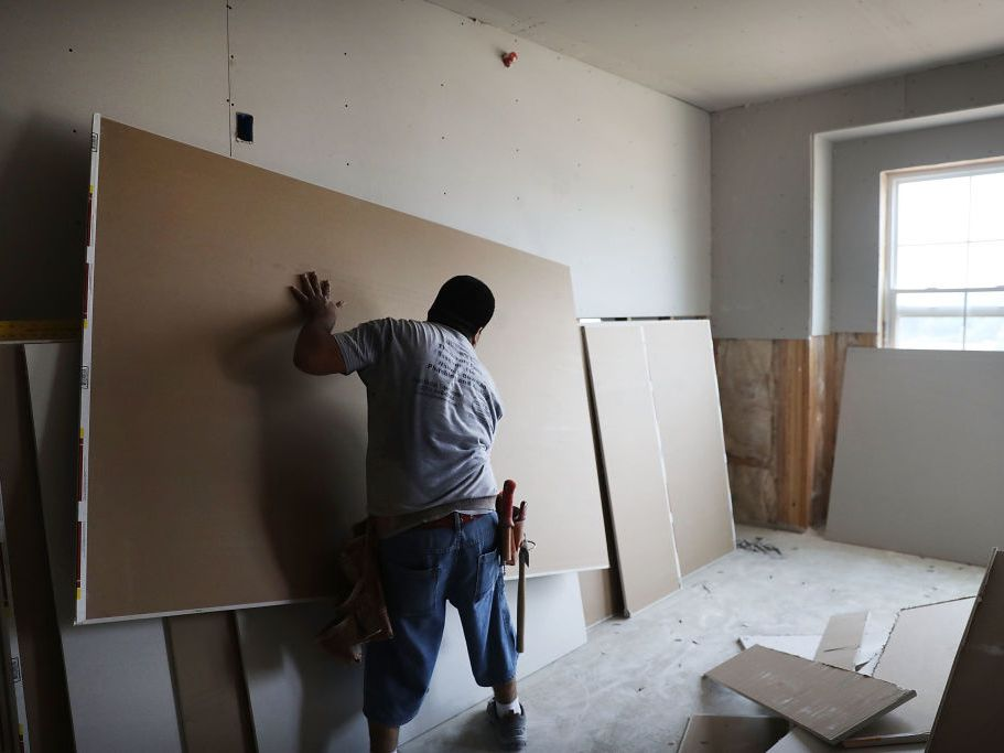 How To Hang Drywall, How To Hang Drywall In The Basement