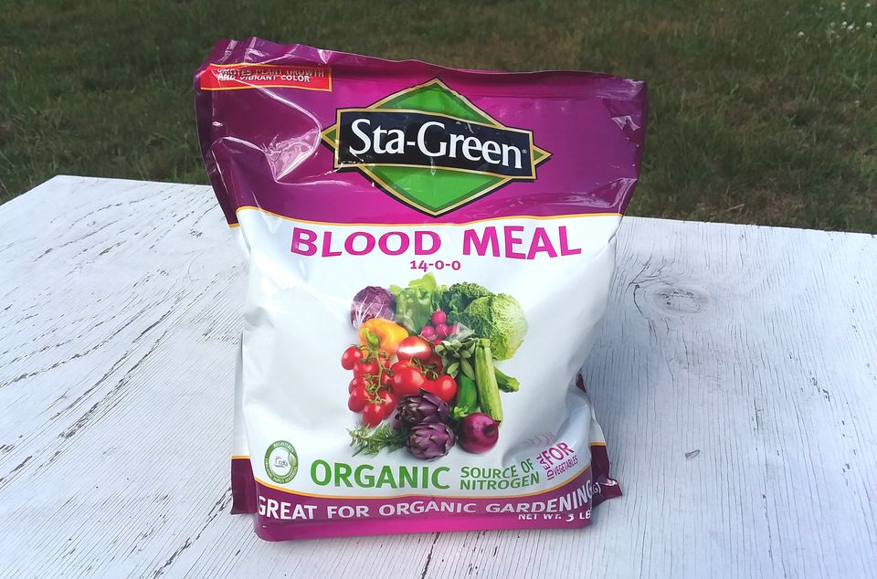 Package of blood meal.
