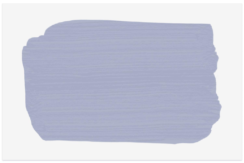 Muestra de pintura Benjamin Moore Purple Poppy