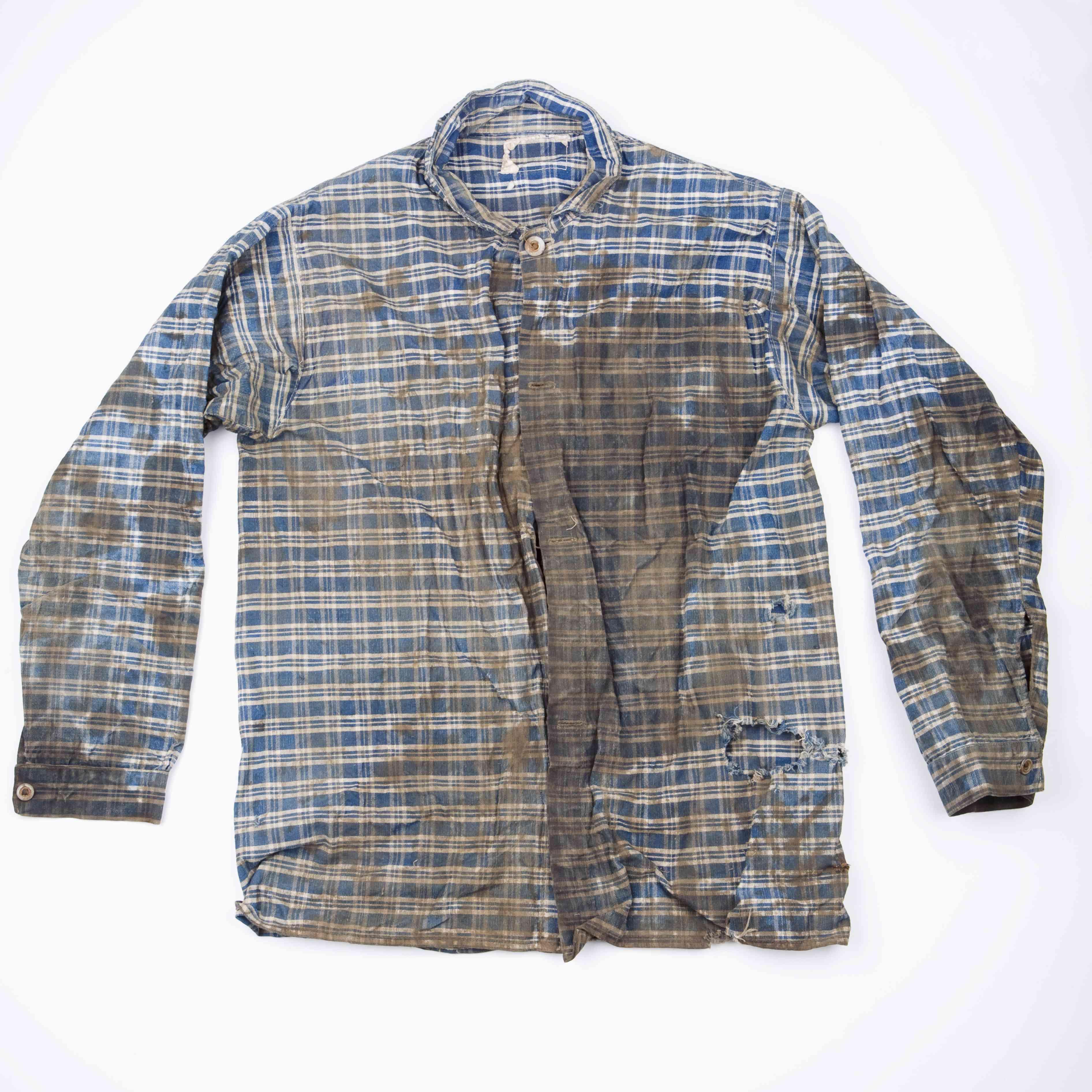 Dirty checked shirt