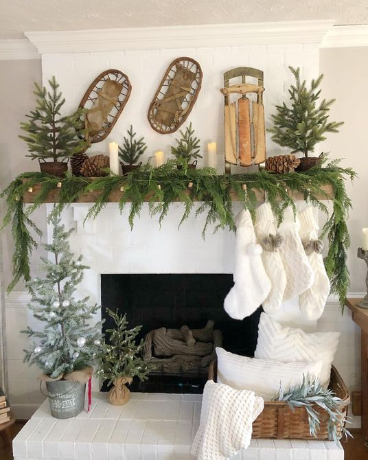 22 Gorgeous Rustic Christmas Decorations