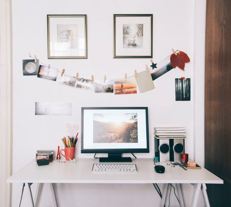 Small Home Office Ideas for Men