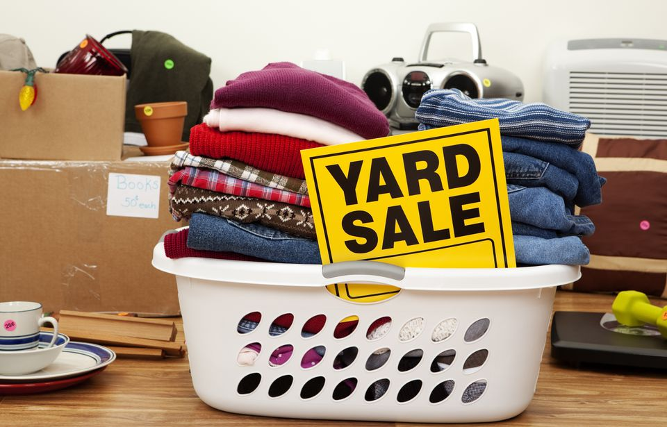 Garage Sale: Household Items and Clothing