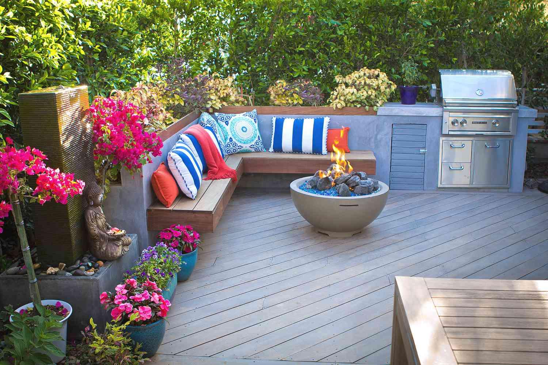 Convertir el patio delantero en el patio trasero
