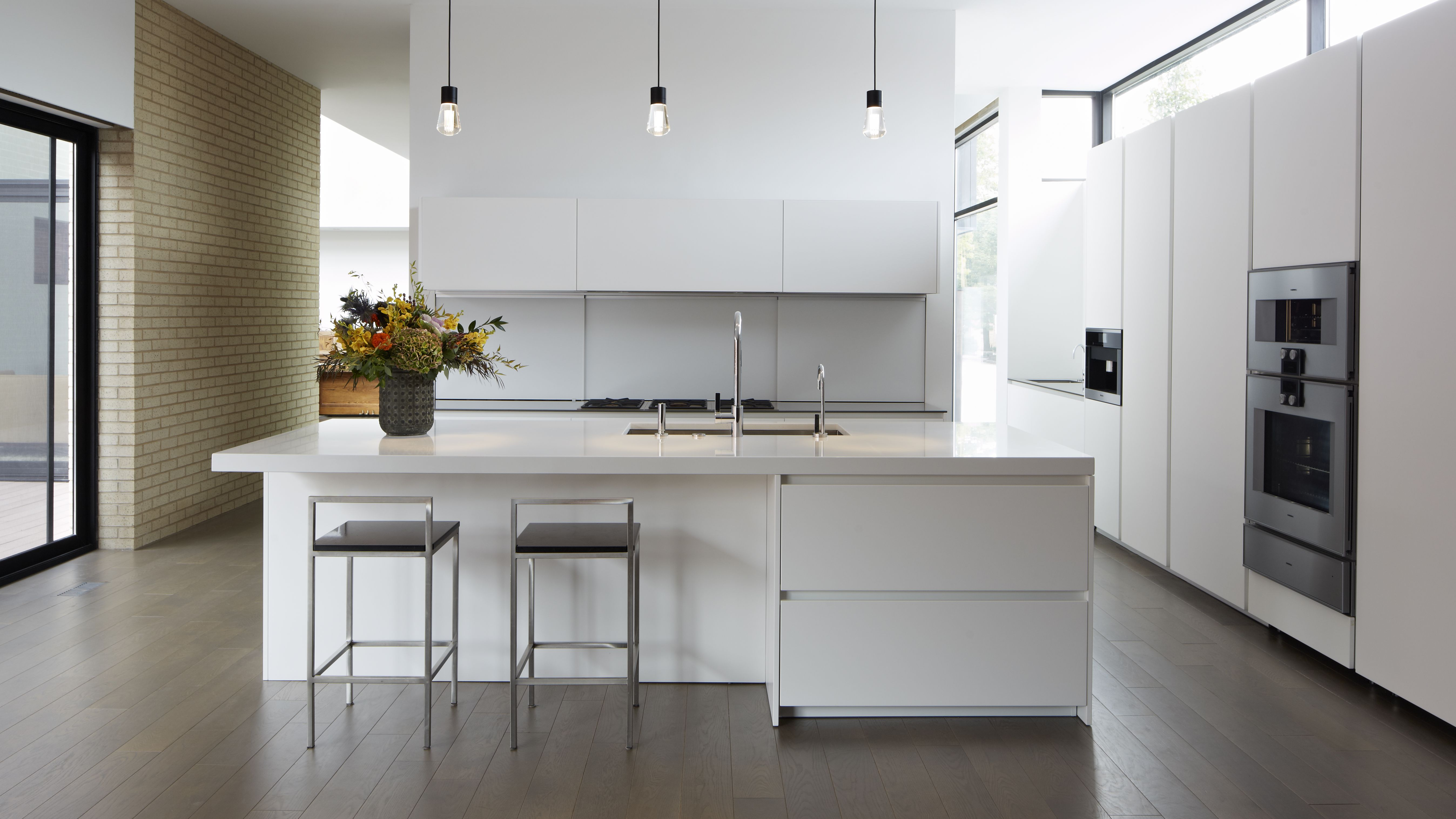 Minimalist Kitchens To Inspire You,Patch Work Back Side Simple Blouse Back Neck Designs Images