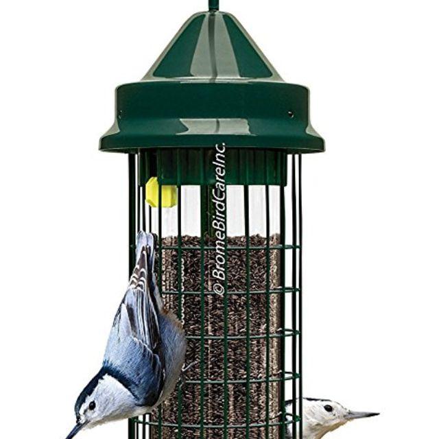 LARGE SQUIRREL PROOF NUT FEEDER garden bird feeder