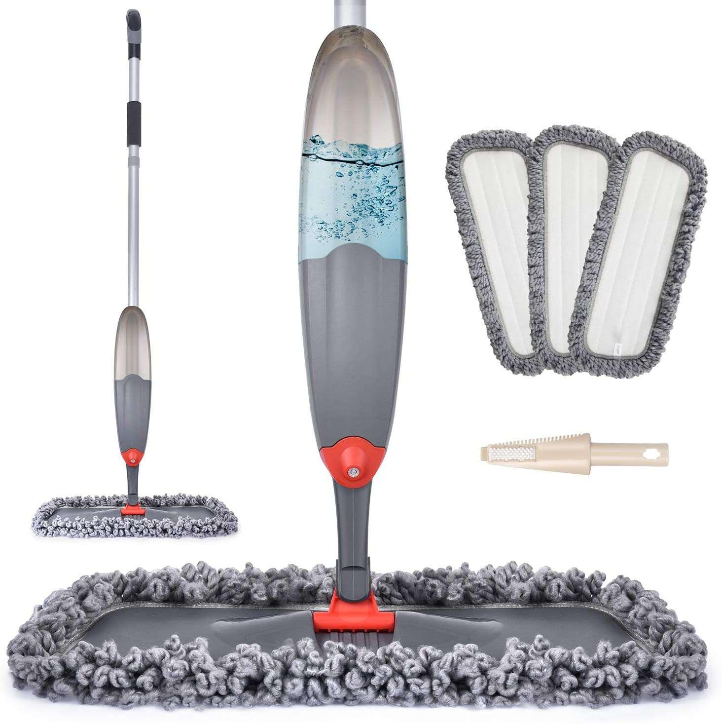 Domi-patrol Spray Mop for Floor Cleaning