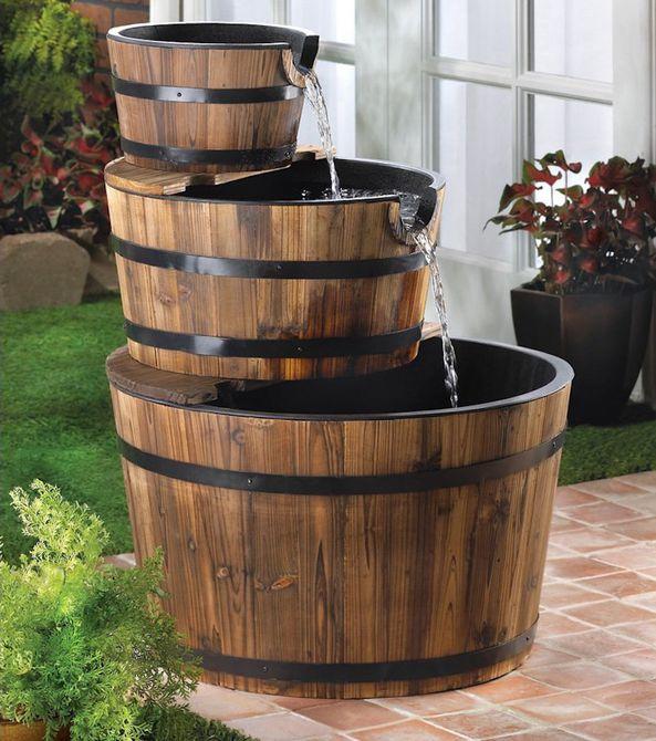 Fuente de barril
