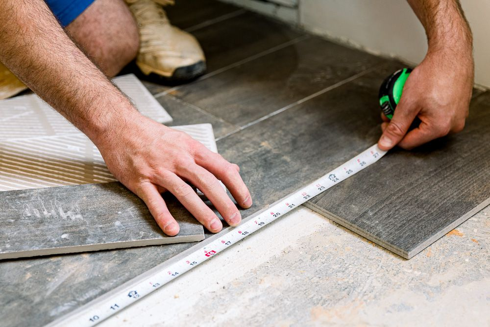 Can You Install Tile Over Concrete, Can You Put Vinyl Tile On Concrete Floor