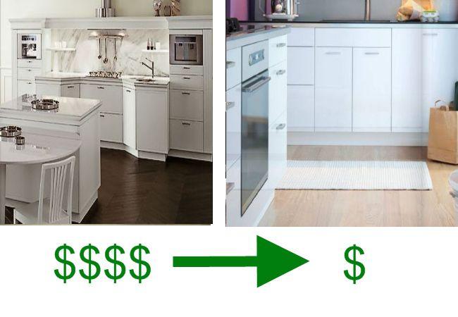 Comparing Snaidero to IKEA Euro-Style Kitchen Cabinets