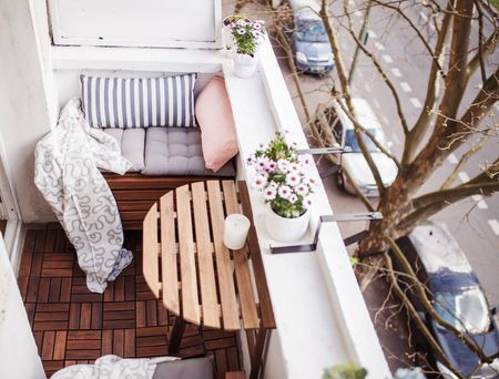 Double Duty Furniture And Affordable Decking