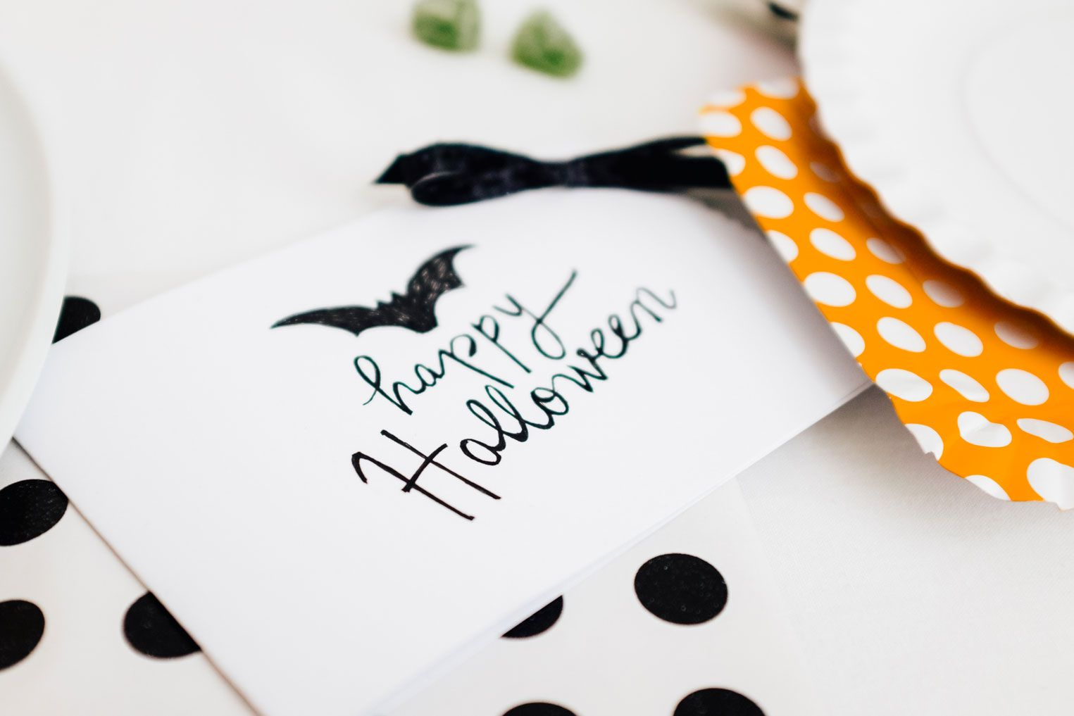 a Halloween party invitation