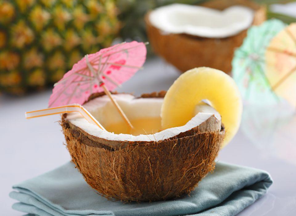 Coctel de coco