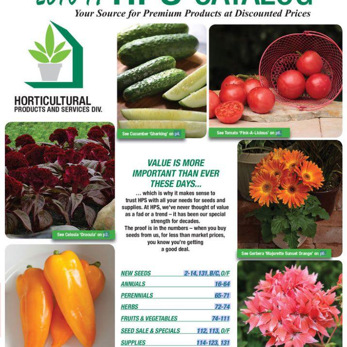 El catálogo de semillas gratuito de HPS