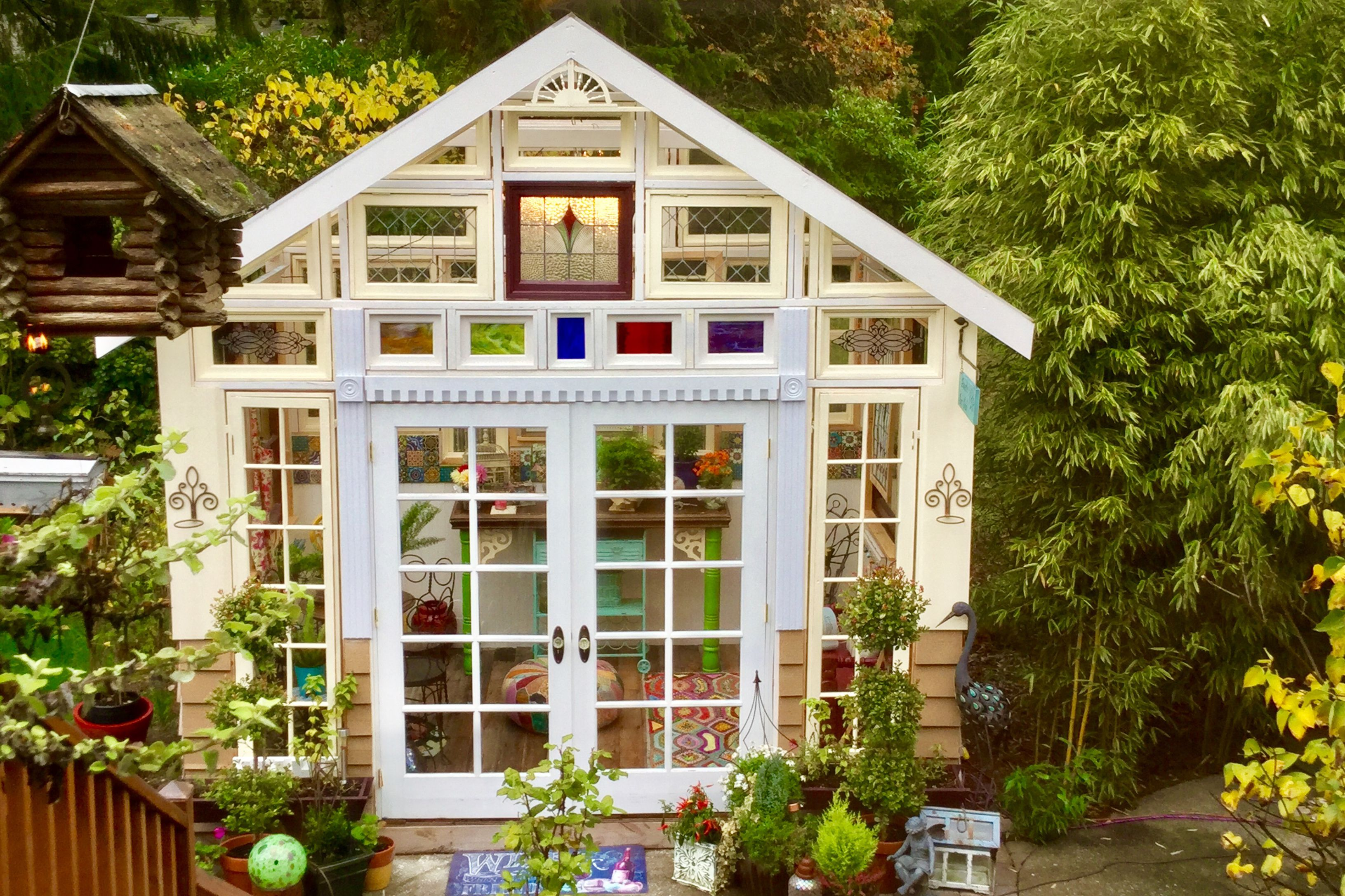 glass shed shed