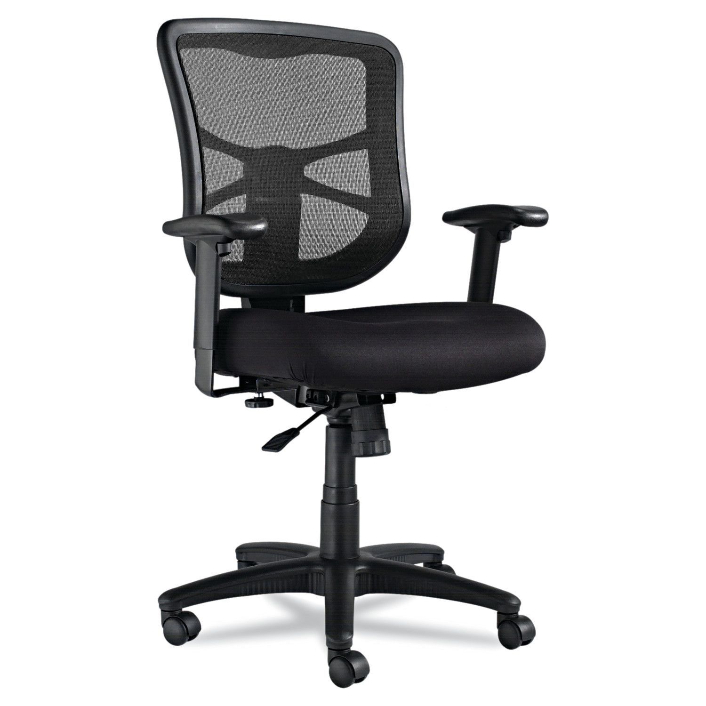 Alera Elusion Mesh Mid-Back Swivel/Tilt Chair