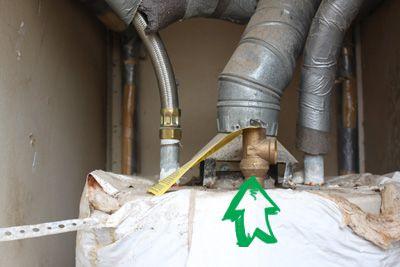 Water heater Temperature and Pressure relief valve