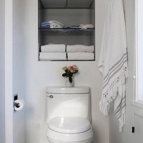 15 Bathroom Shelf Ideas For A More Organized Home