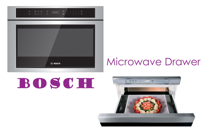 Bosch Microwave Drawer