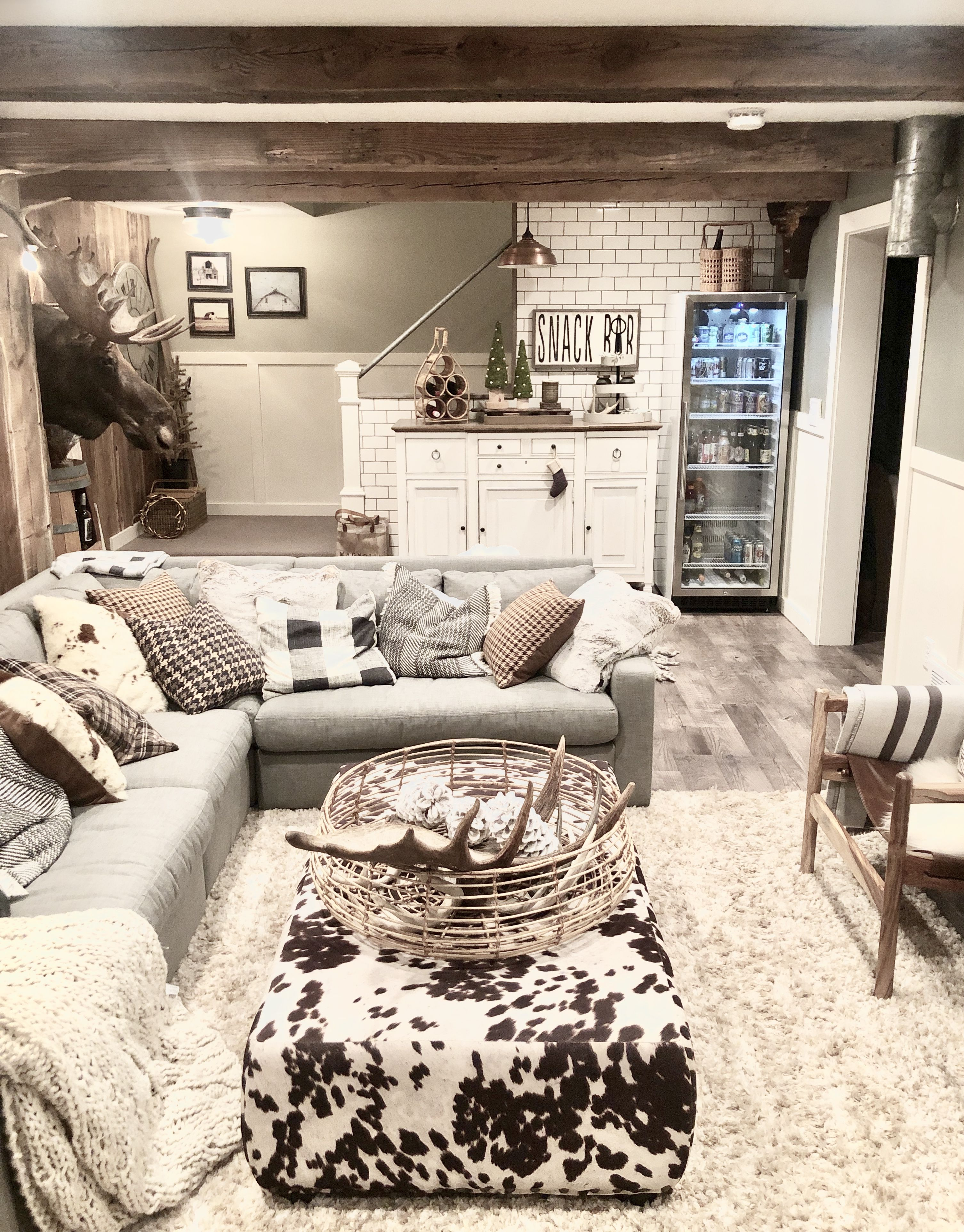 15 Finished Basement Design Ideas