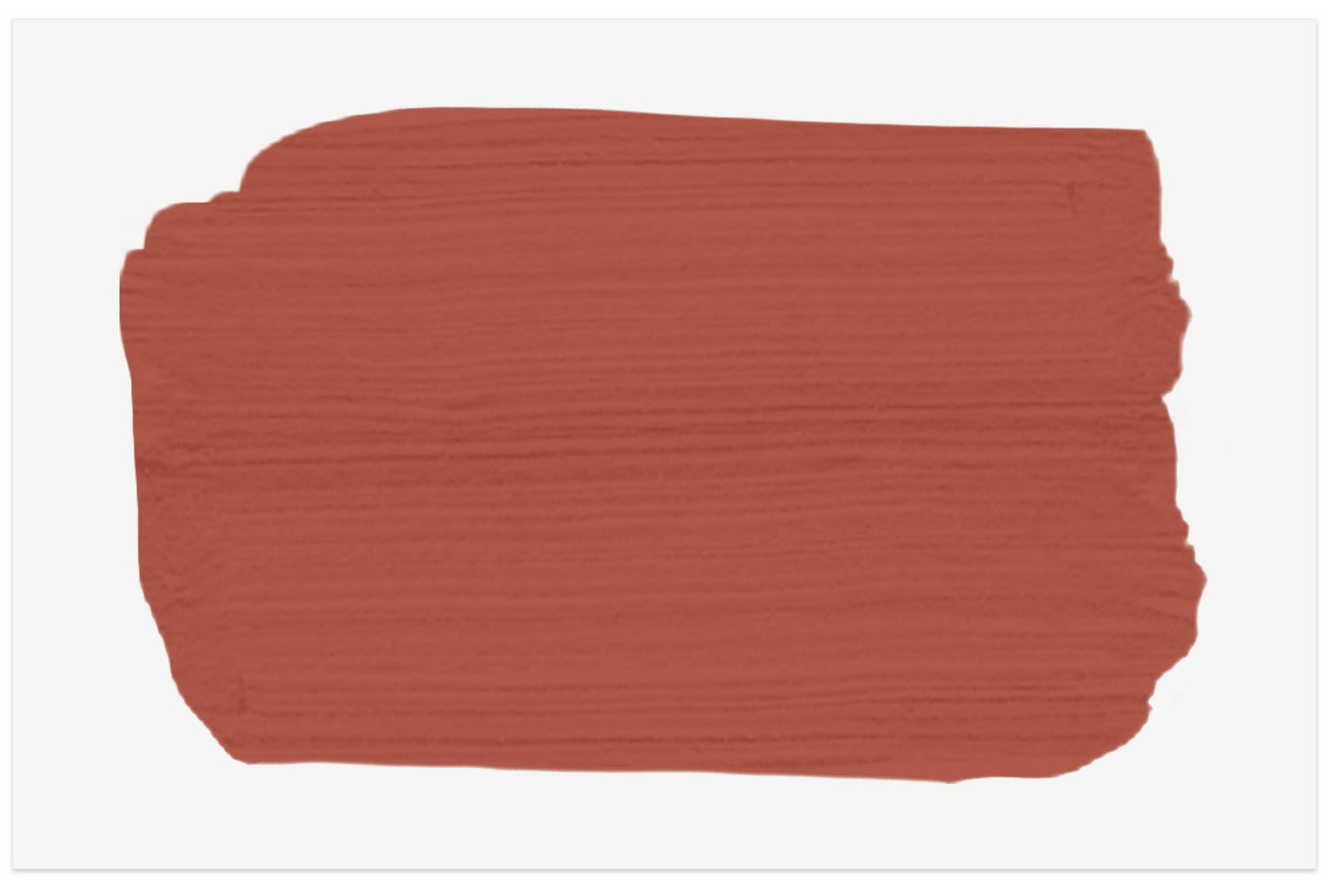 Spruce Paint color swatch in Persimmon