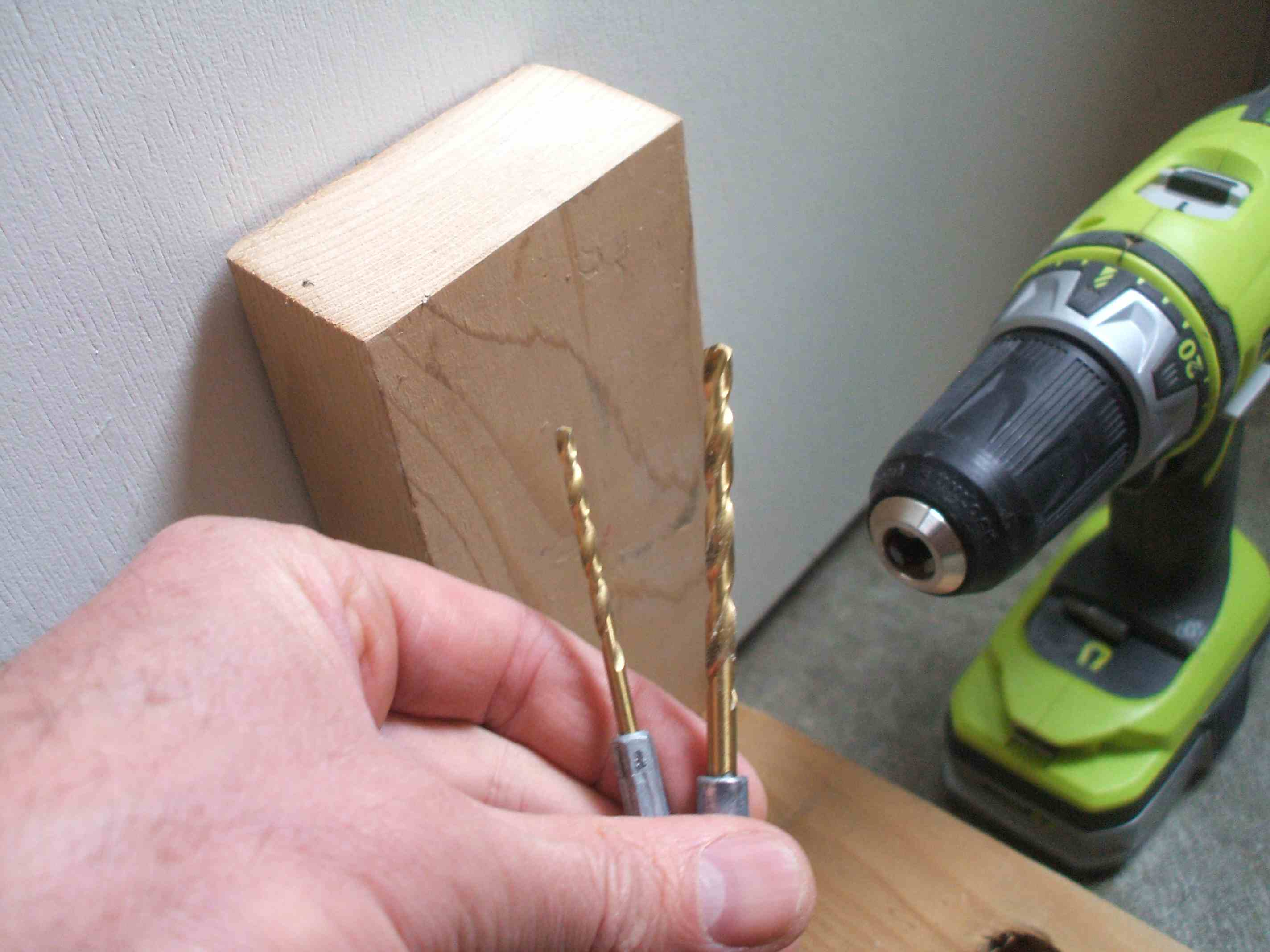 How to Drill Angled Holes Into Wood