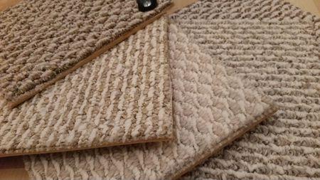 Kanga Backed Berber Carpet Samples