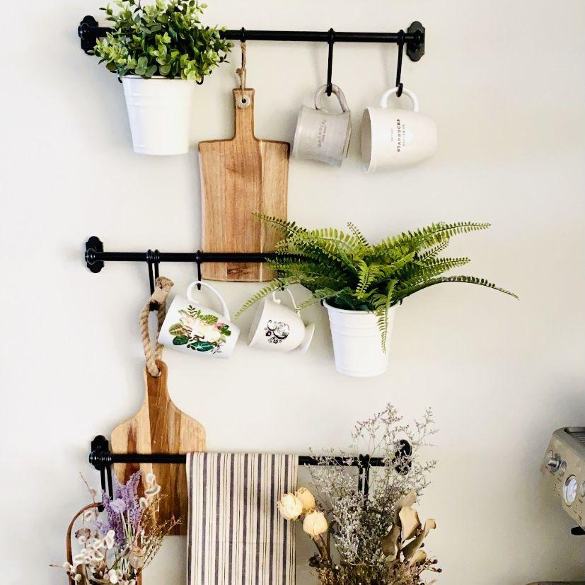 IKEA hack DIY farmhouse wall