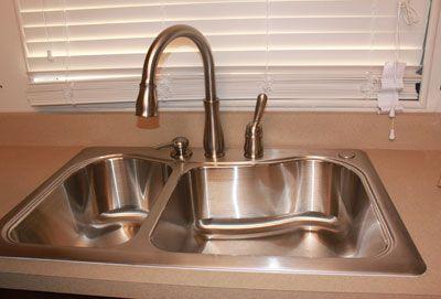 A New Delta Kitchen Faucet