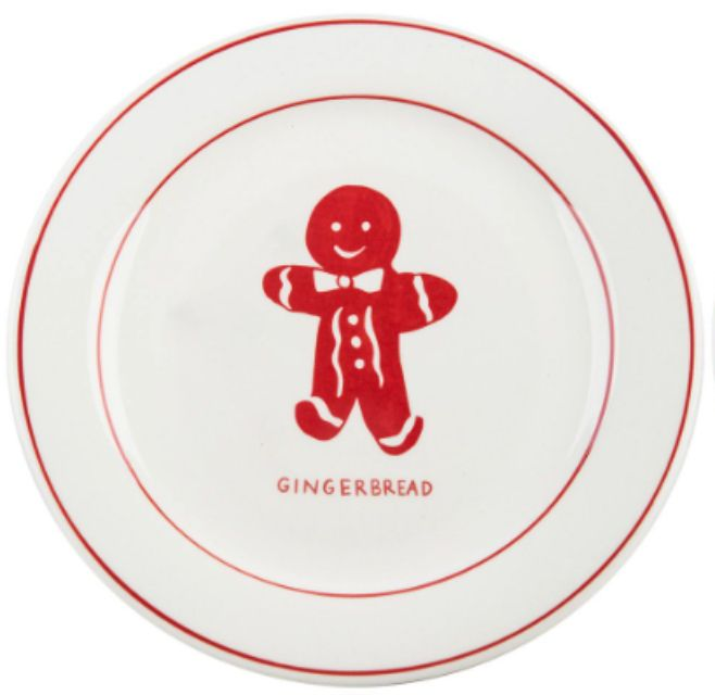 gingerbread-plate