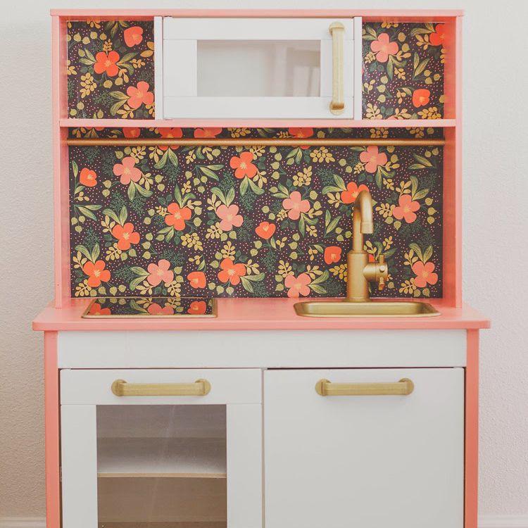Floral Kitchen Play Set