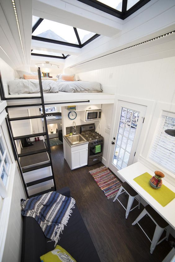 A tiny apartment