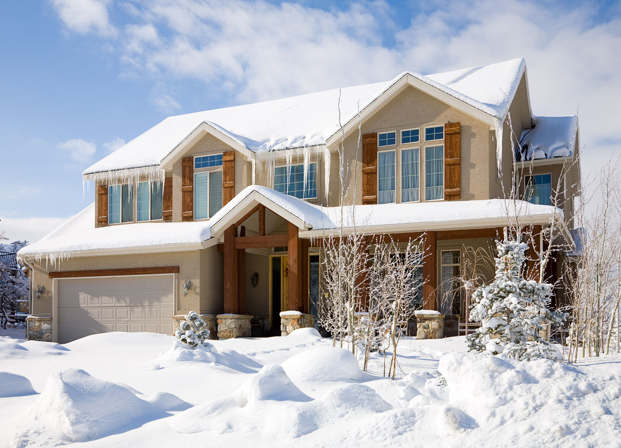 Smart tips and strategies for moving during the winter season - Exterior painting in cold weather ...