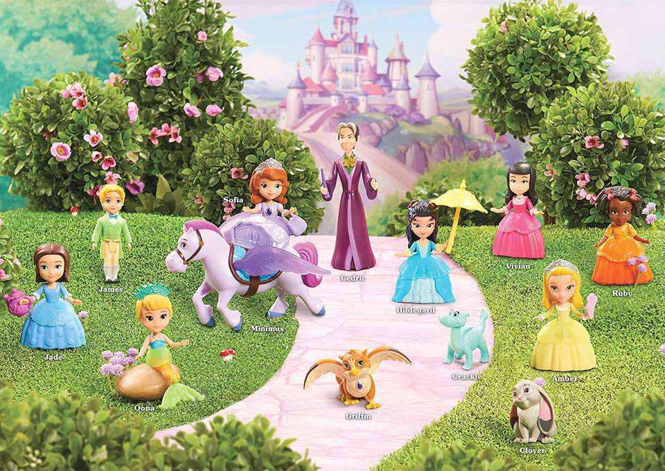 Disney Sofia The First Deluxe Friends Pack