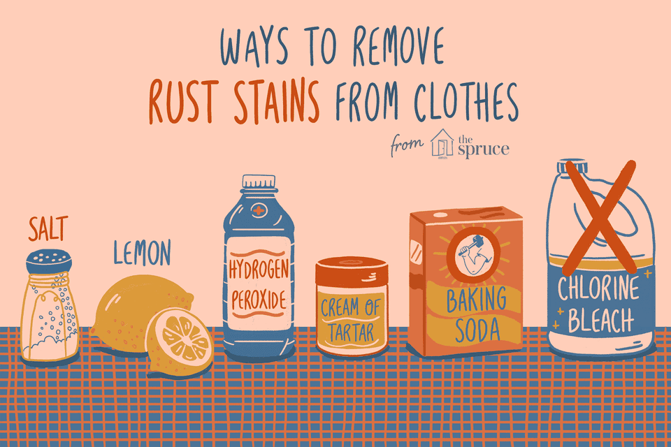 removing rust stains