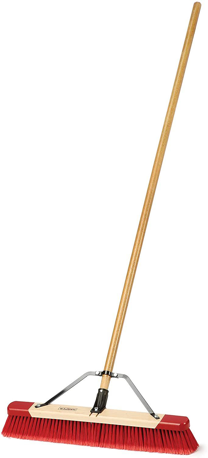 Harper 24 in. Easy to Assemble Outdoor Push Broom