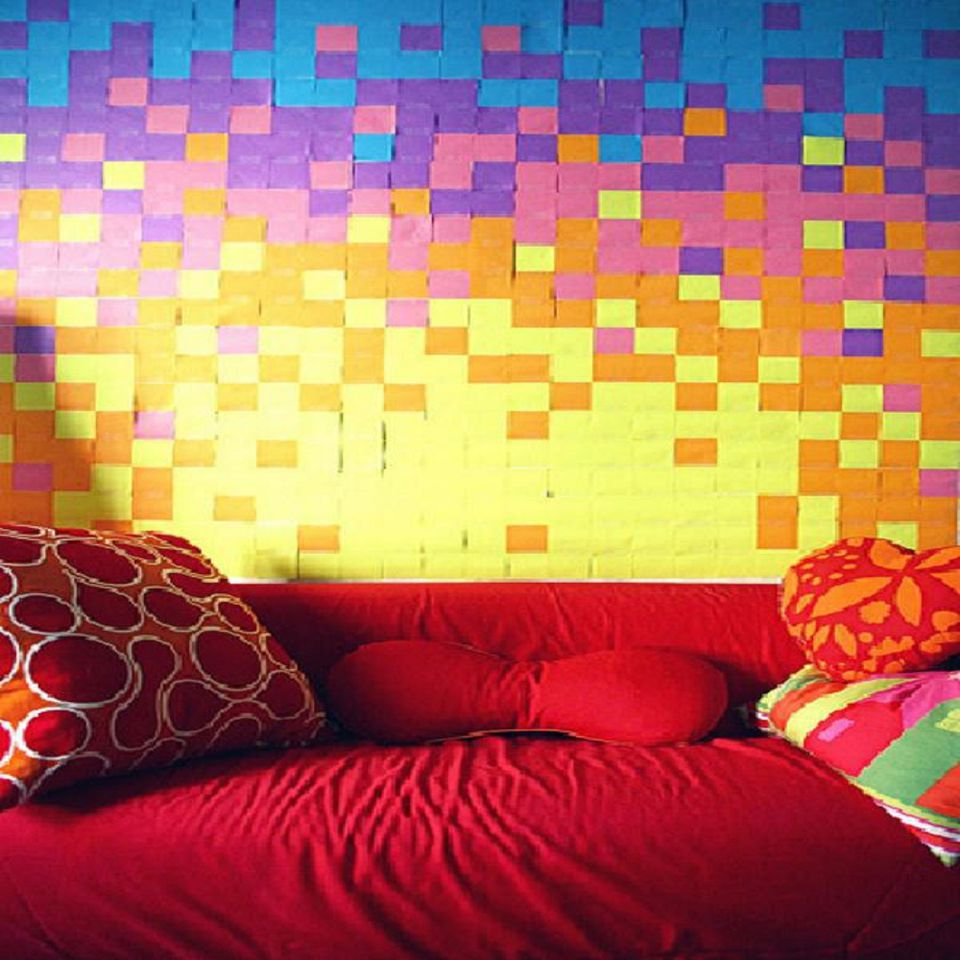 DIY Creative Bedroom Wall Ideas