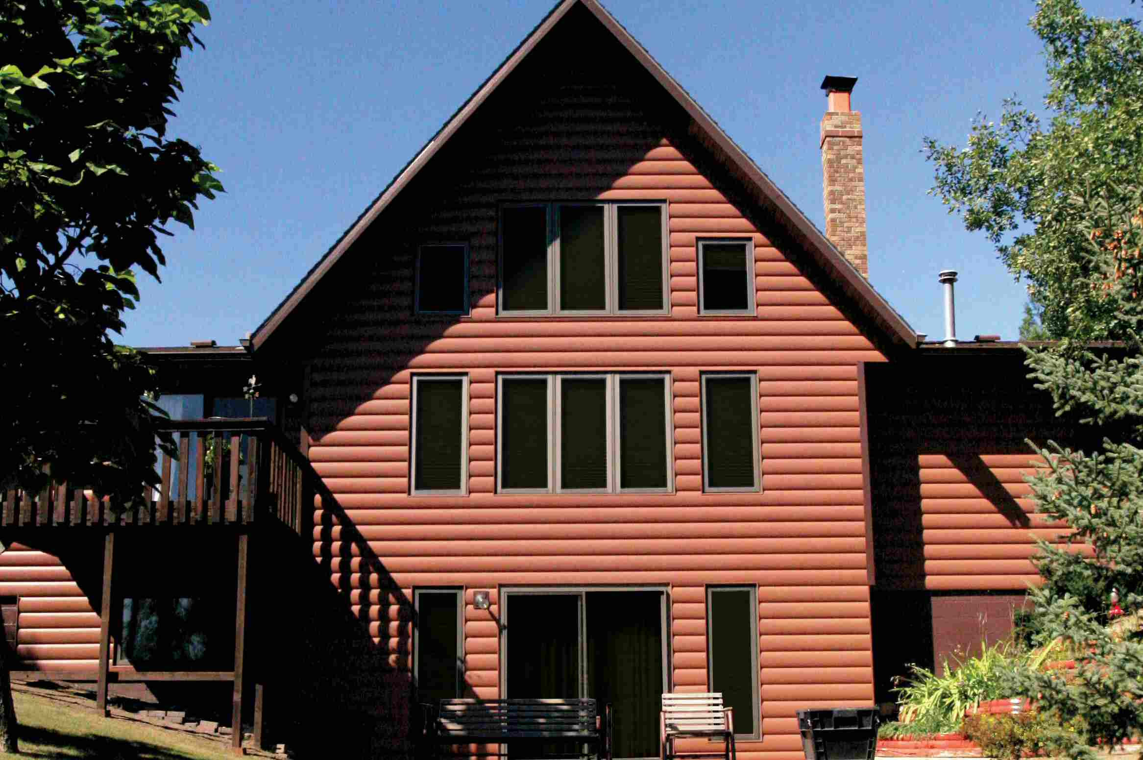 Seamless Steel Siding from Northwoods Collection, United State Seamless