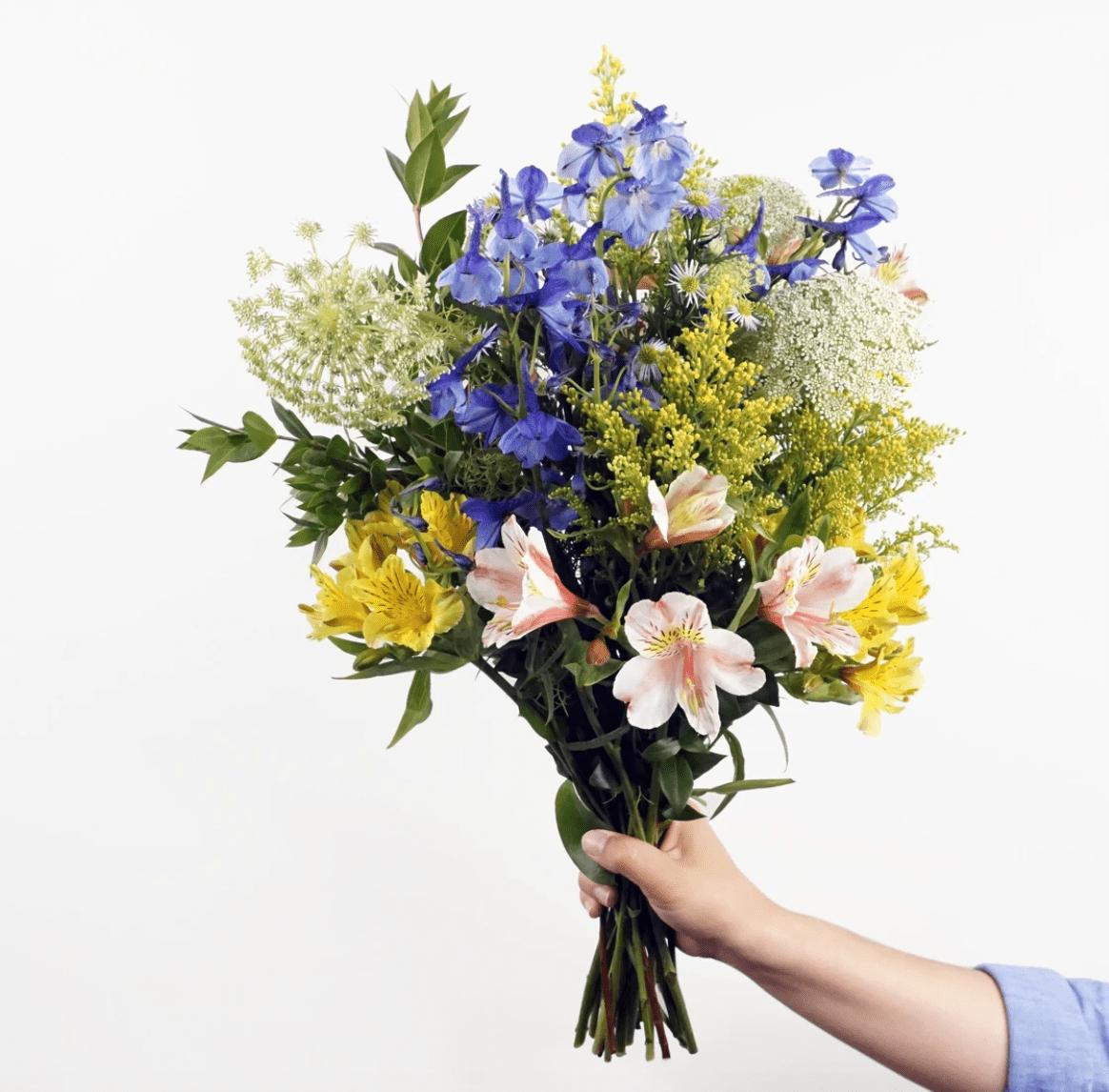 Petalled flower delivery